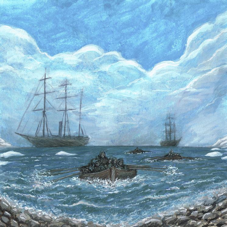La expedición Pabodie desembarca en la Antártida