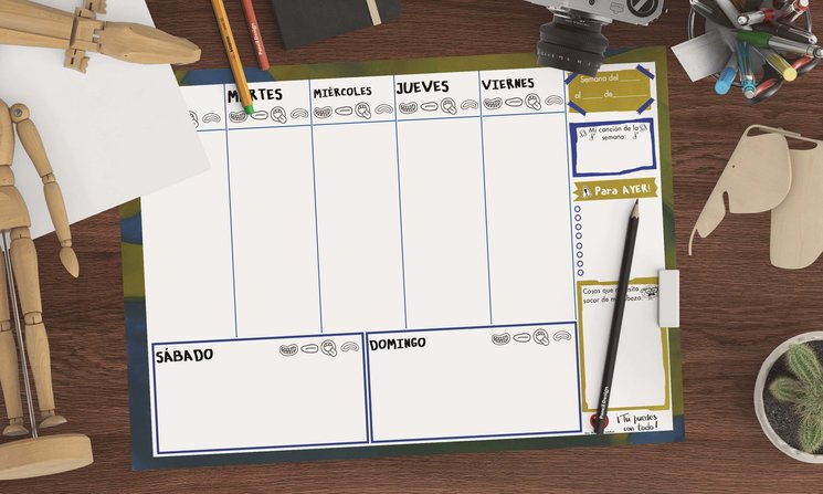 Planner del pack del Opositor
