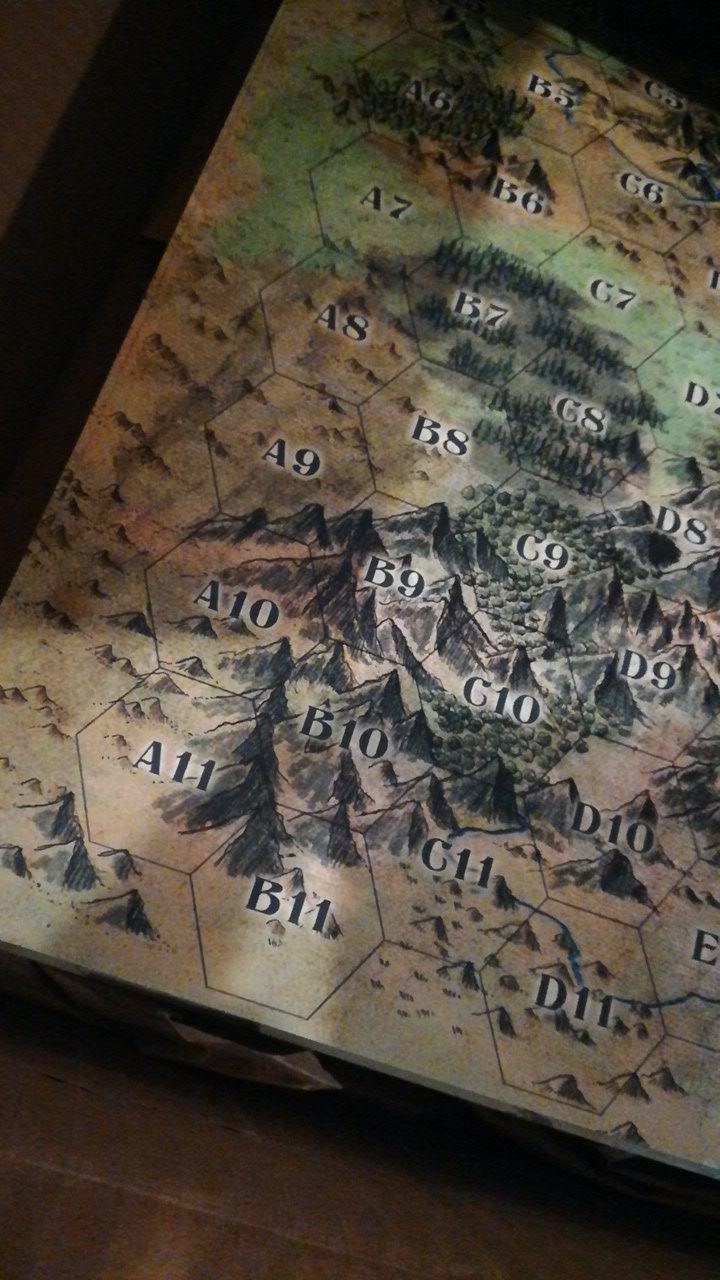 El espectacular mapa de Arkham...