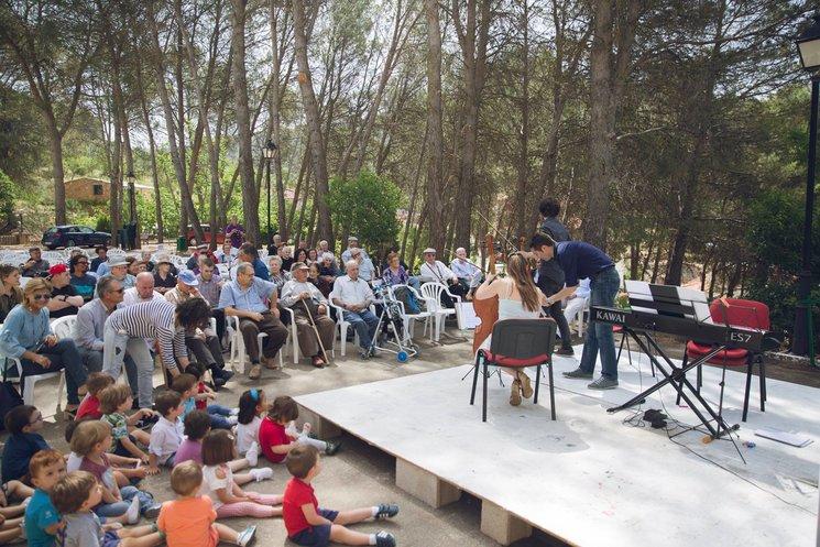 Concierto en la Residencia de Mayores de Siles, 2017