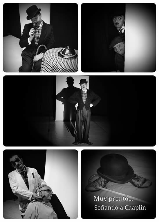 Ensayos de soñando a Chaplin/Fotos de Chari González.