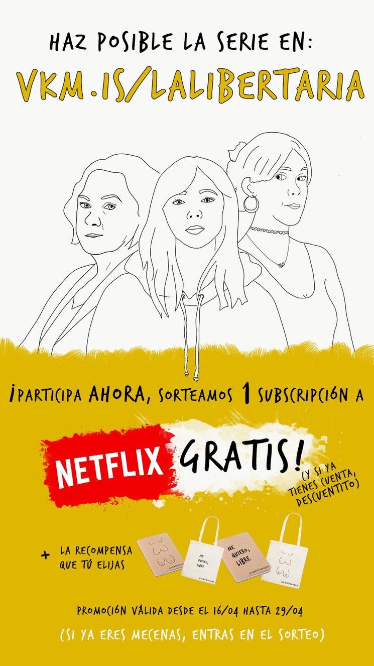 ¡SORTEO NETFLIX GRATIS!