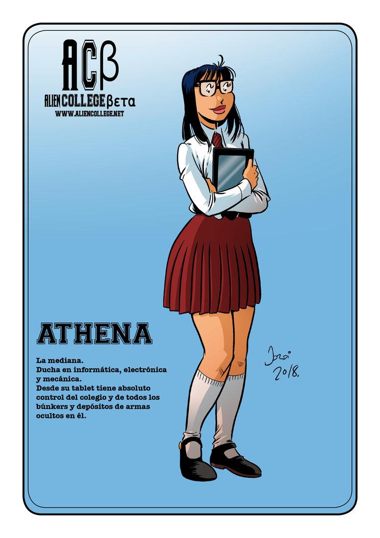 Athena, la lista.