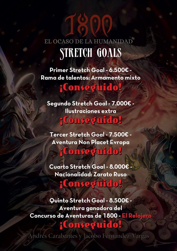 Stretch Goals Desbloqueados