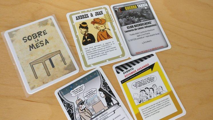 4 cartas para dominarlos a todos...