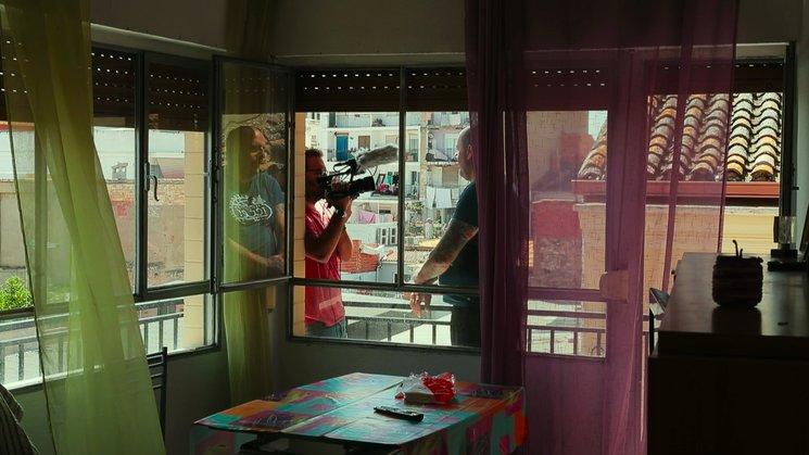 Sergio y  Ramón en un fotograma del documental.