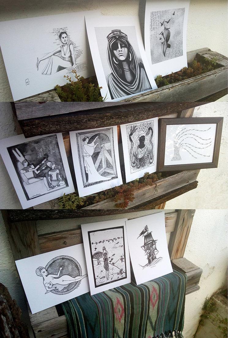 ilustraciones interpretación de las Guerreras escogidas