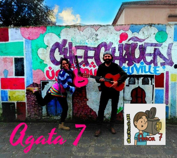 """Sonia Ajenjo Vila (35) y Carlos Alberto Ortiz de Alarcón (41) han creado recientemente un espacio  artístico para este film, llamándolo: """"AGATA 7"""". Con poesía, música y danza ambos buscaran motivar la sensibilidad de los actores mientras enriquecen las escenas de Amor 7 ."""