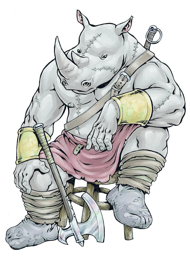 Rino el rinoceronte