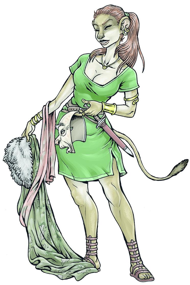 Ricota, la maestra del disfraz