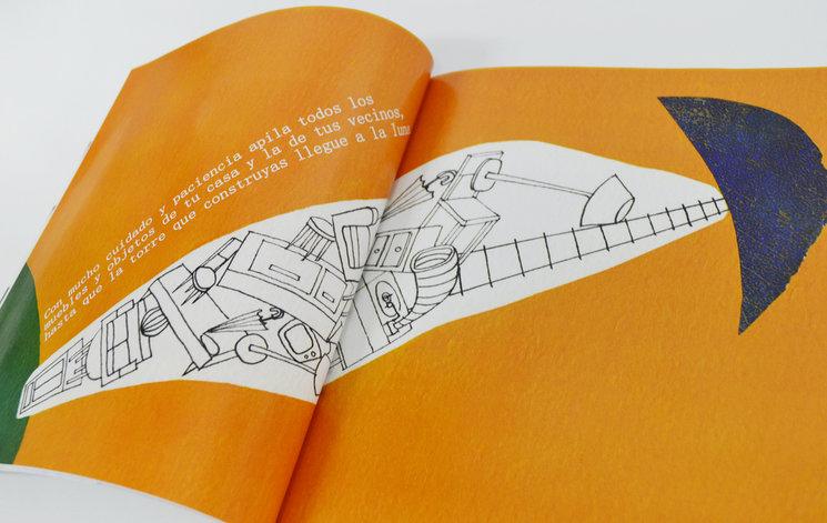 Una de las páginas del libro