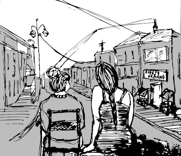 Escena final de Nuestra Calle