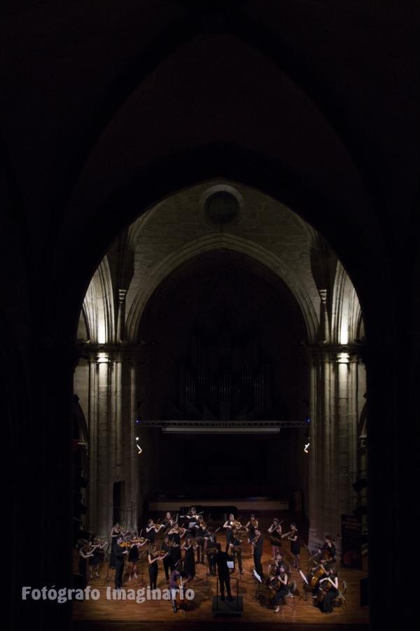 FIM´cc 2017. Orquesta Ciudad Monumental de Cáceres (OCMC), en el Auditorio San Francisco.