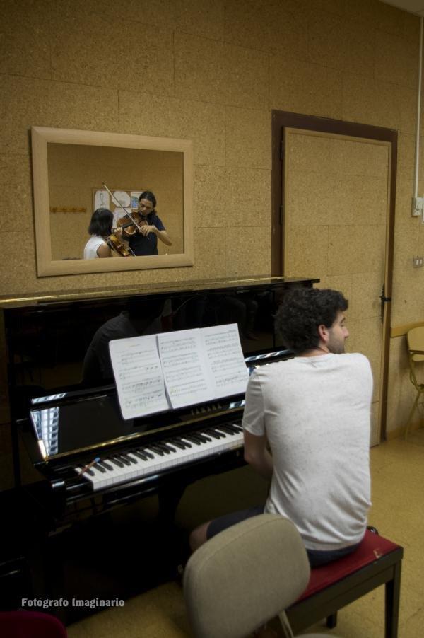 Clase de viola. Yuval Gotlibovich, viola, Luca De Grazia, piano.