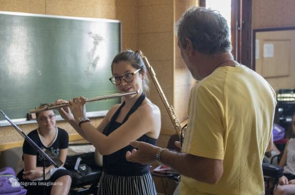 Masterclass de flauta,2017. Mario Ancillotti, flauta, Italia.