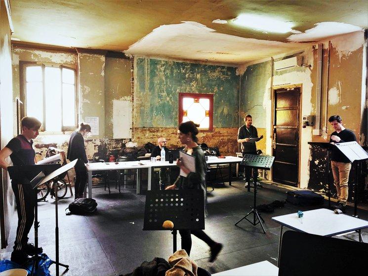 Hoy último día de ensayos ! // Last day of rehearsals today !