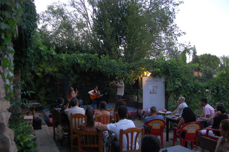 Flamenco Jazz con Sandra Carrasco y Enriquito