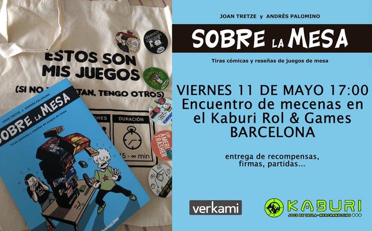 Encuentro de mecenas en Barcelona
