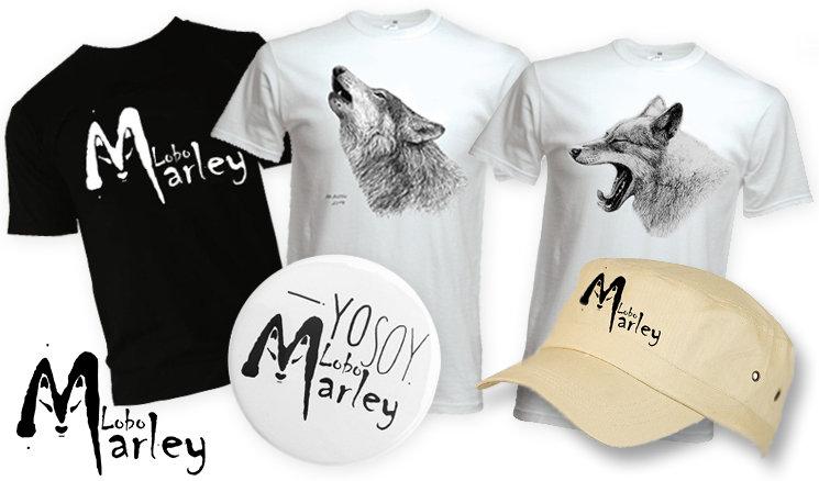 Camiseta clásica con el logo, camisetas con diseños de Mauricio Antón, chapa y gorra
