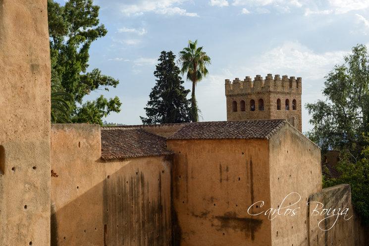 Vista exterior de la Alcazaba