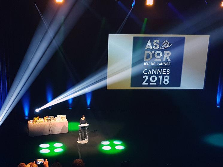 La ceremonia de los Premios As d