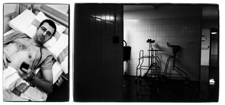 Photographs of the Vall Hebron Hospital, 2001