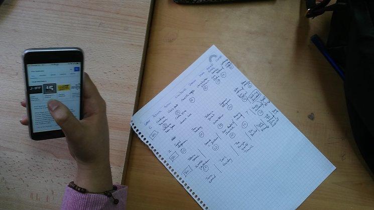 Este es un uso educativo, ¡en nuestra aula sí podemos usar el móvil!