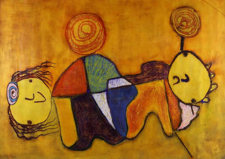 Haciendo el amor, obra de Paco Bernal