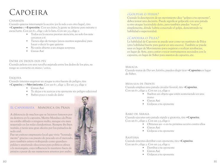 """Movimientos Característico """"Capoeira"""""""