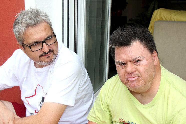 Paco Bernal y el director Julio Suárez