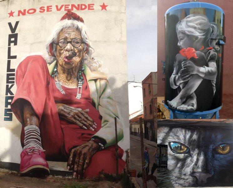 Murales Lian en Vallecas