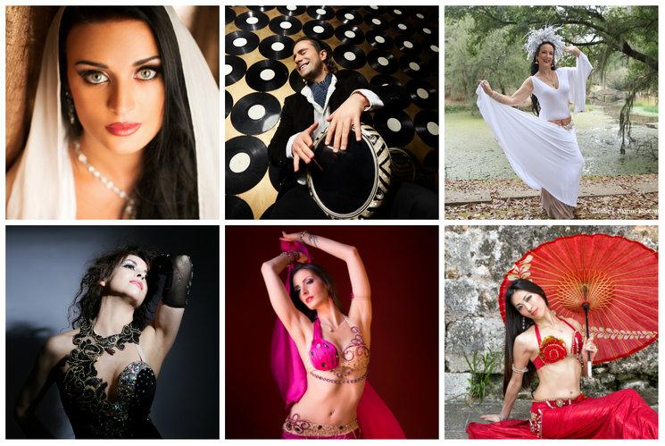 Aida Bogomolova (Russia), Artem Uzunov (Armenia), Tamalyn Dallal (USA), Shessenia (Argentina), Silvia Brazzoli (Italy) Meg Mayya (Japan)