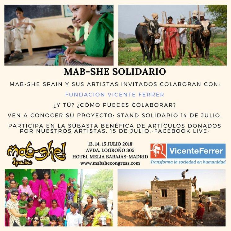 Espacio Solidario: Fundación Vicente Ferrer.