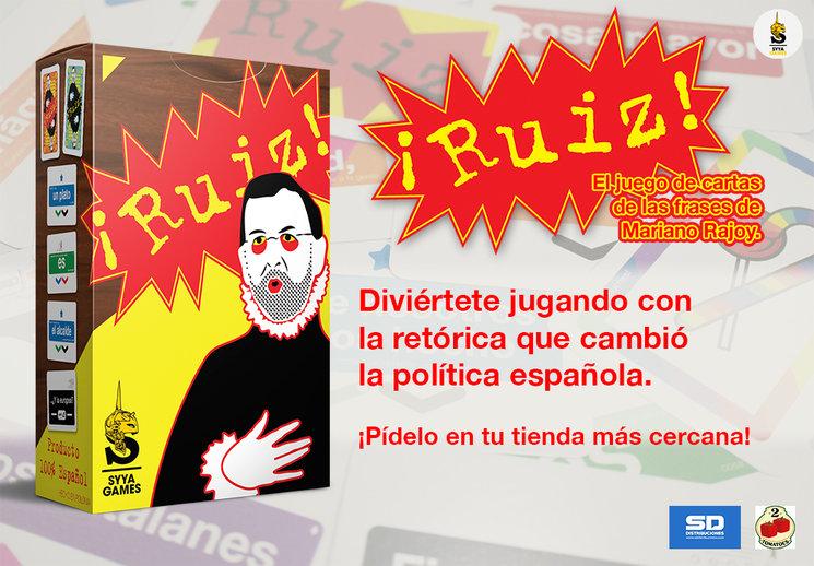 2ª edición de ¡Ruiz!, e instrucciones en PDF