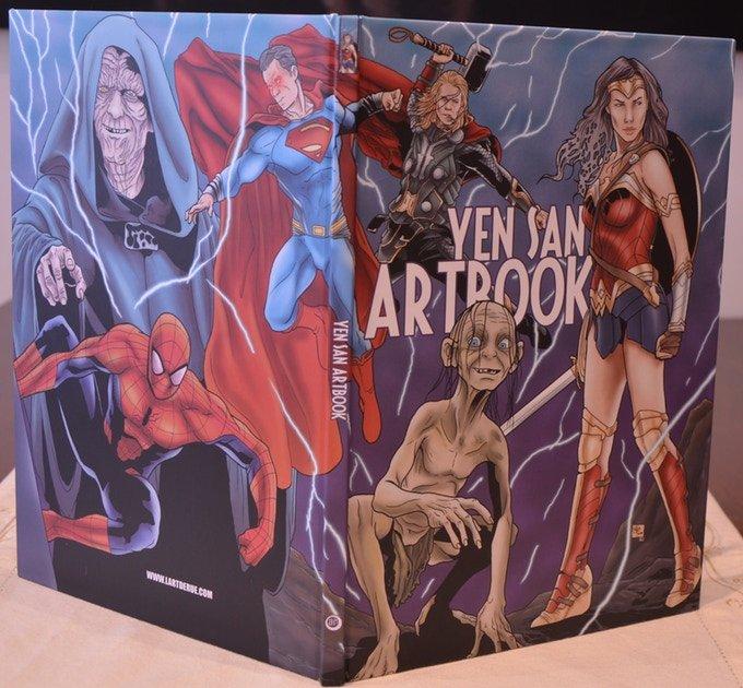 Artbook cover