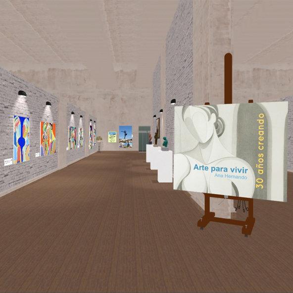 App de Realidad Virtual para gafas 3D en Play Store: Ana Hernando VR