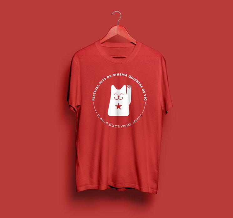 Camiseta 15 años. (Solo en rojo)