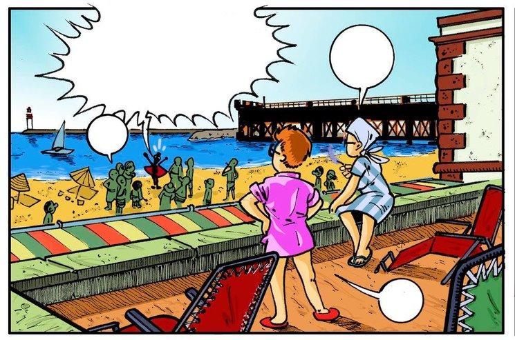 Club Náutico (Playa de las Almadrabillas)