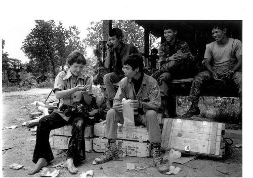 Christine Spengler en Camboya, 1985