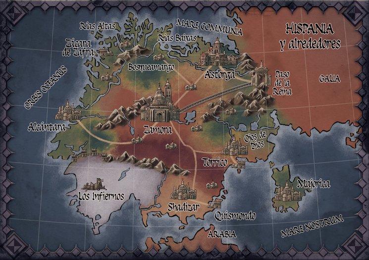 Mapa de Hispania definitivo