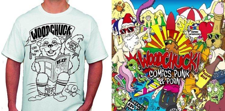 """Comics, Punk & Porn"" T-Shirt and Physical Album"