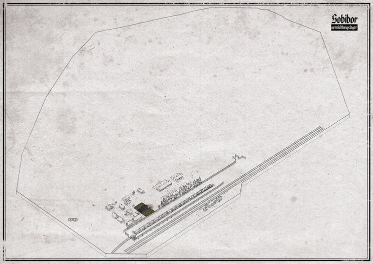 Boceto Plano Sobibor