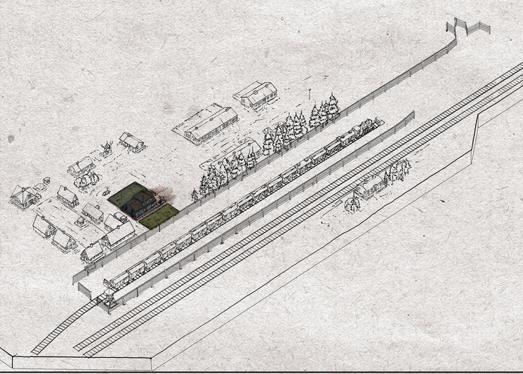 Plano Sobibor detalle