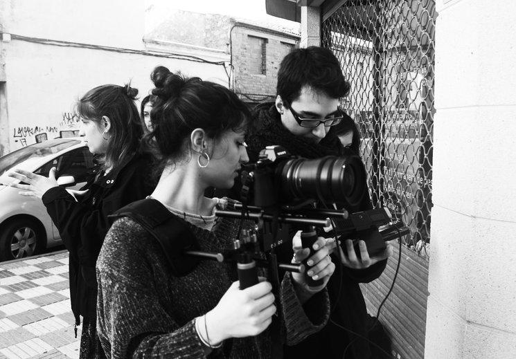 Imágenes de making off durante la grabación de Escape