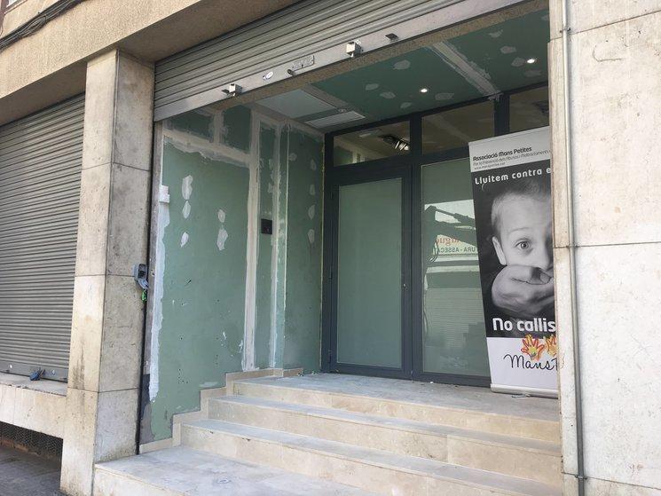 La sede del local, situada a Hospitalet del Llobregat