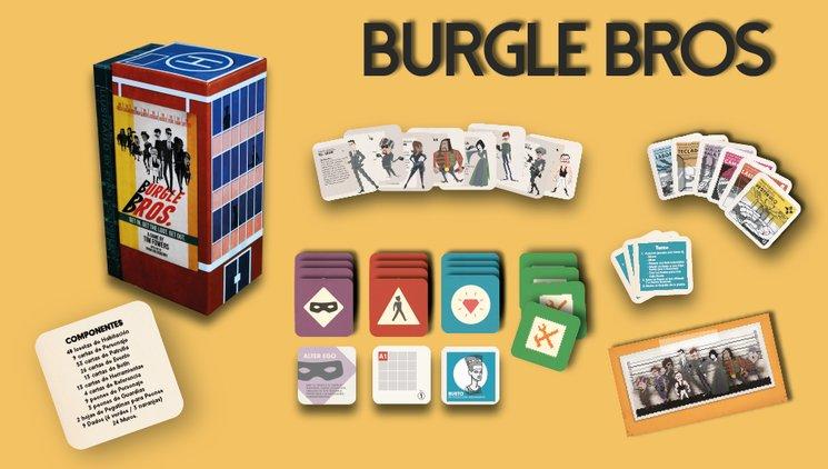 Burgle Bros. y sus componentes