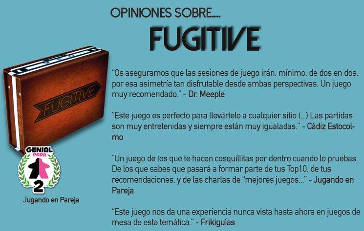 Algunas críticas de Fugitive