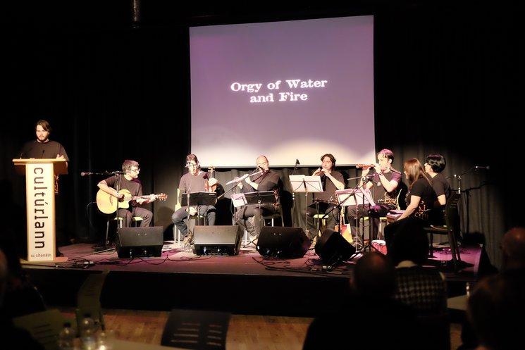 Actuació al Cultúrlann Na hÉireann de Derry, l