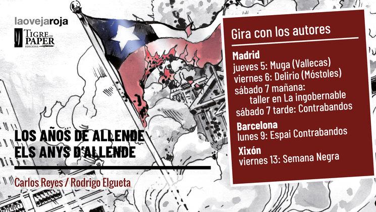 Carlos Reyes y Rodrigo Elgueta en Madrid, Gijón y Barcelona