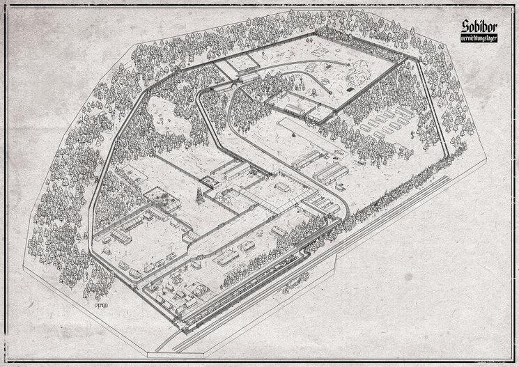 Boceto Plano Sobibor2